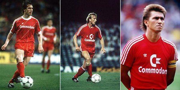 Bayern Monaco sponsor Commodore 64