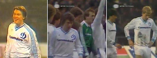 Dinamo Kiev sponsor Commodore