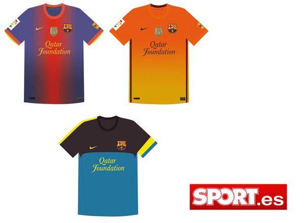 Calcio, ecco le nuove maglie Nike per Barcellona 2012/13 | Ama la ...