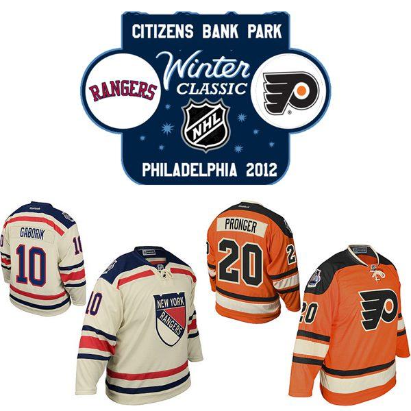Hockey, Winter Classic NHL: Flyers-Rangers con meno vintage e più sobrietà per iniziare il 2012
