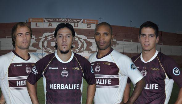 lanus jersey camisetas kits 2012