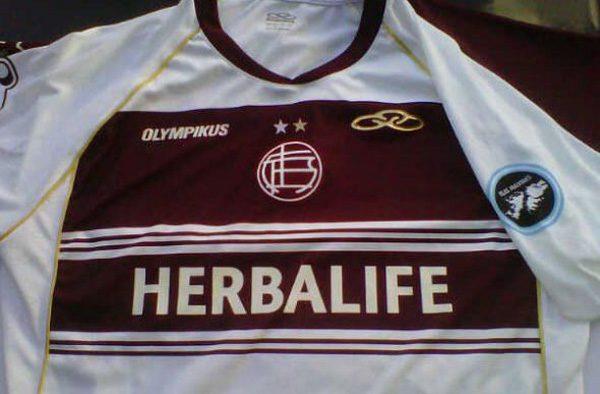 camiseta jersey Lanùs Olympikus 2012