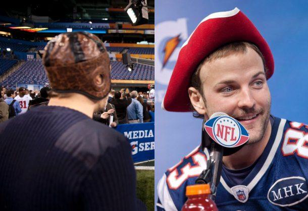 Football Nfl, Super Bowl XLVI: Media Day a Indianapolis ...