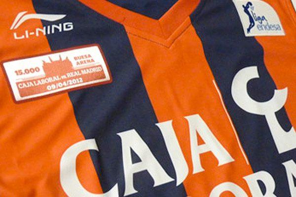 Baskonia, maglia speciale per nuova Buesa Arena