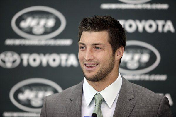 Tim Tebow New York Jets 2012