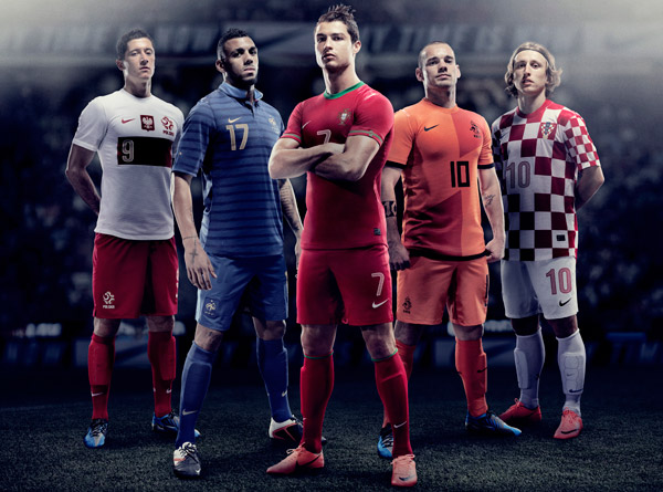 Euro 2012: Nike lancia Home Kit <em>eco-friendly</em>