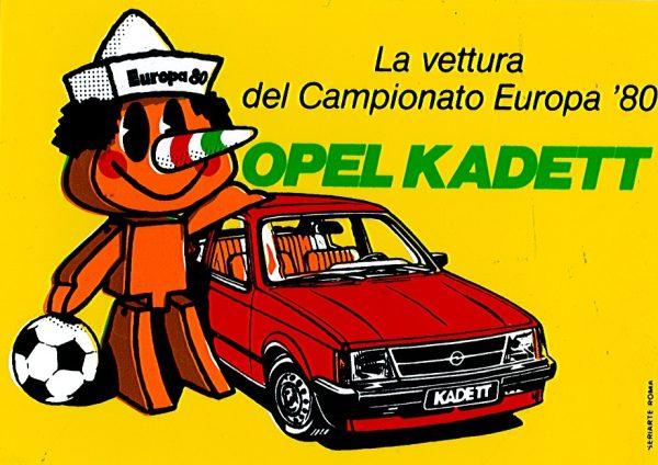 Maglie, sponsor e mascotte dal 1960 a Euro2012