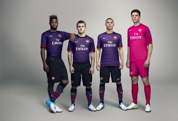 Arsenal, Nike: Away Kit avventuroso 2012/13