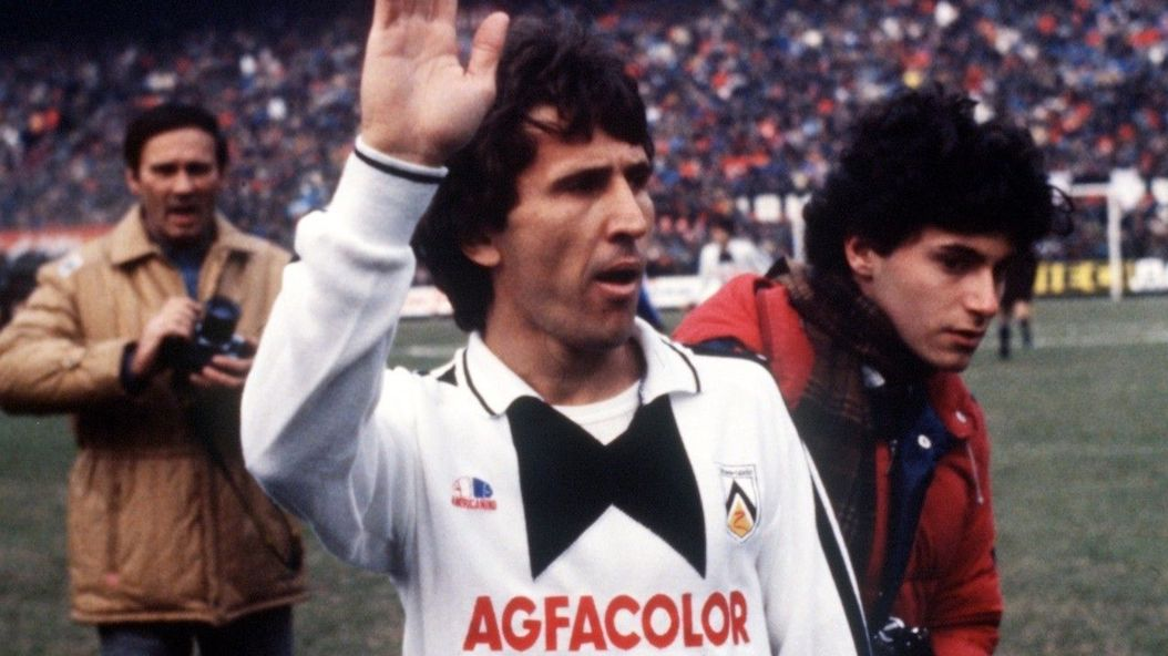 Udinese divisa 1983 Americanino