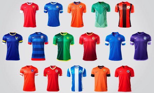 China_Football_Super_League_16_Team_Home_Kits