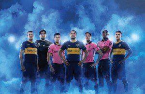 nuova camiseta rosa del Boca Juniors 2013-14