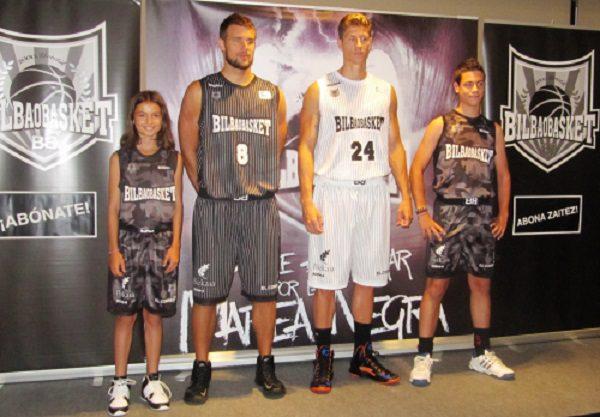 Bilbao Basket, contro i 76ers con la divisa camouflage