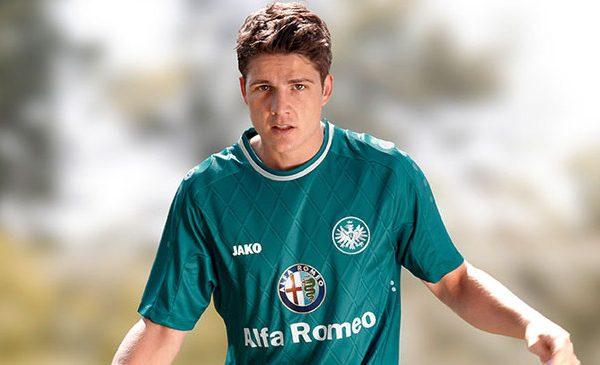 maglia-Eintracht-Francoforte-Jako-verde-2013-2014