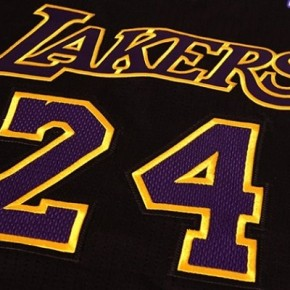 maglia nera lakers hollywood nights