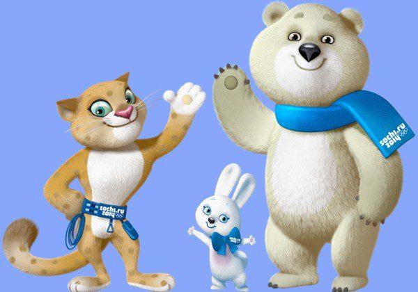 Sochi 2014, ecco le tre mascotte delle Olimpiadi invernali