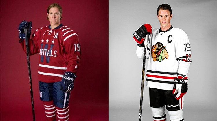 Winter Classic 2015, Chicago in maglia retrò contro Washington