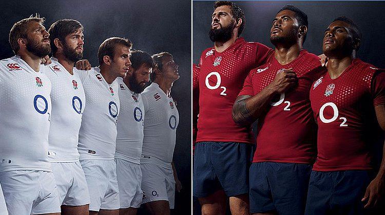 maglia inghilterra di rugby per il 6 nazioni 2015