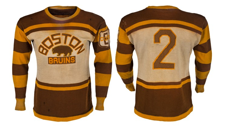 All'asta memorabilia dei Boston Bruins 1929-31 di Eddie Shore