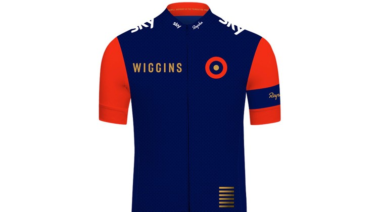 Team Wiggins, il completo ciclismo di Rapha per sir Bradley