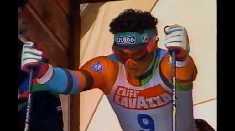 Mondiali di sci alpino 1989 a Vail: Tomba e il retro-look