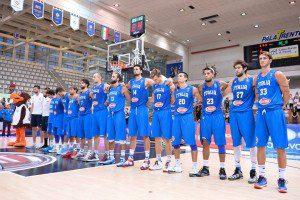 Italia, canotta basket Champion 2015