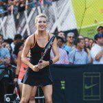 Abbigliamento tennis Genie Bouchard 2015