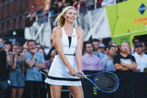 Abbigliamento tennis Maria Sharapova 2015