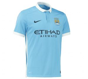 Maglia Manchester City Home 2015-2016