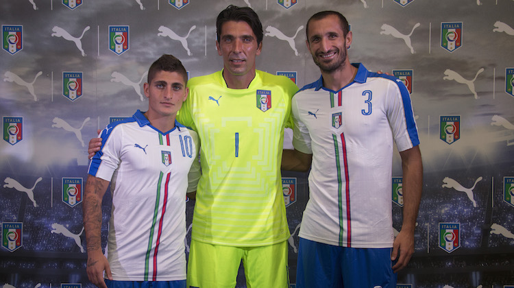Euro 2016, nuova maglia Italia bianca di Puma