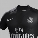 Maglia del Paris Saint Germain nera (3)