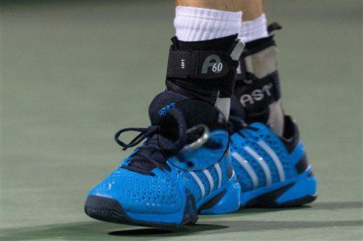 Andy Murray scarpe da tennis adidas