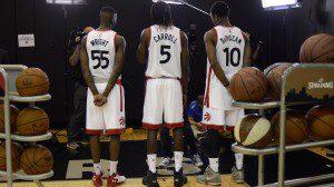 Toronto Raptors divise 2015-2016