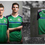 Maglia Irlanda del Nord Euro 2016