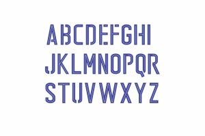 Font lettering Italia Euro 2016