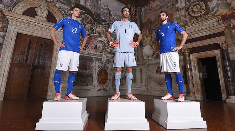 Euro 2016, Italia: maglia Puma per gli Europei