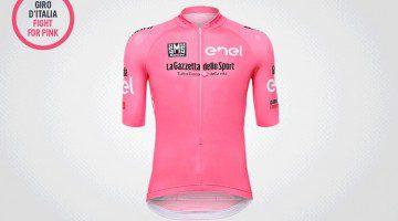 La nuova maglia rosa del Giro d'Italia 2016