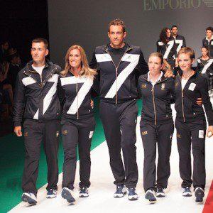 Rio 2016, divise EA7 Armani Italia