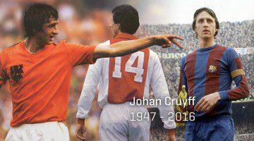 Johan Cruyff e perché aveva il numero 14