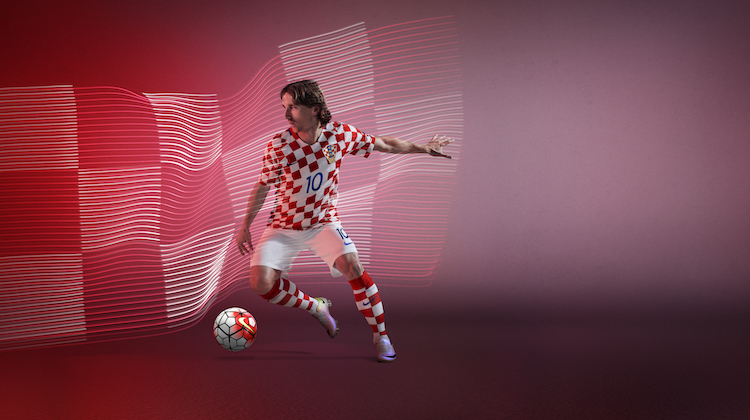 Croazia,maglia Nike di Euro 2016