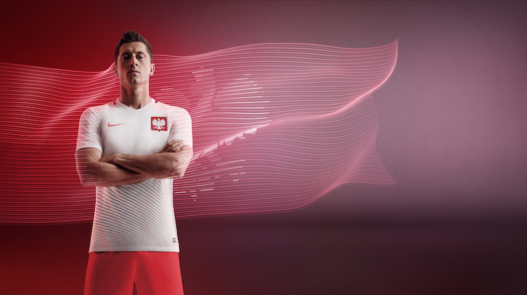 Euro 2016, la nuova maglia della Polonia