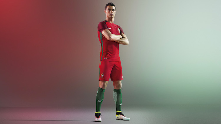 Euro 2016, la maglia del Portogallo