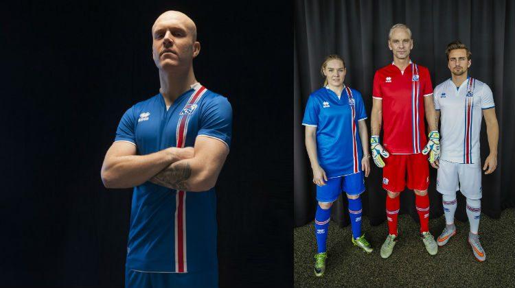 Euro 2016, Islanda: la nuova maglia di Erreà