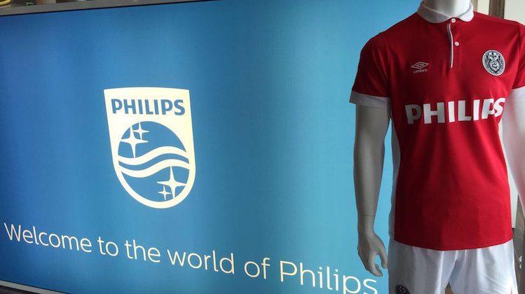 Ultima maglia Philips per PSV
