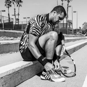 Roland Garros 2016, adidas Y-3: Tsonga (1)