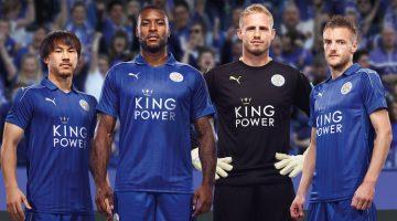 La nuova maglia del Leicester 2016-17