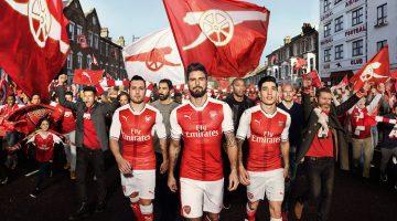 Maglia Arsenal di Puma per il 2016-17