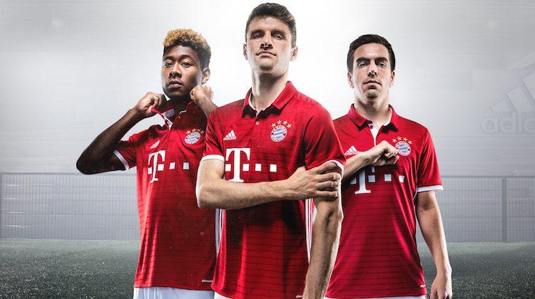 Bayern Monaco, la maglia home 2016-17