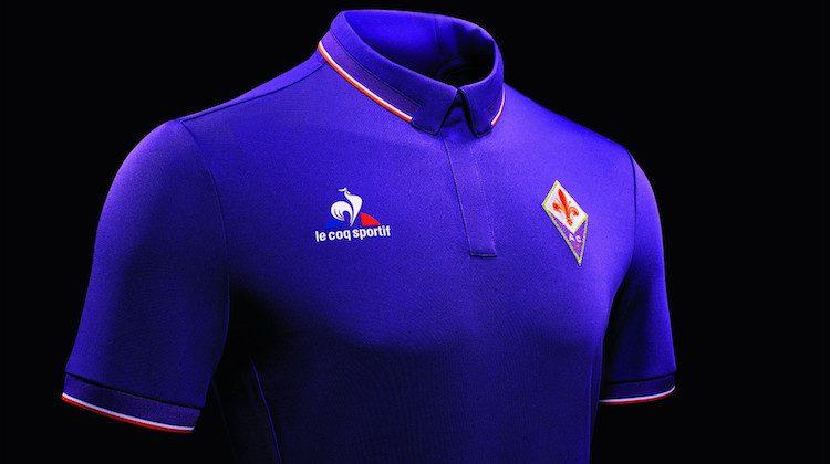 Maglia Fiorentina home kit Le Coq Sportif 2016-2017