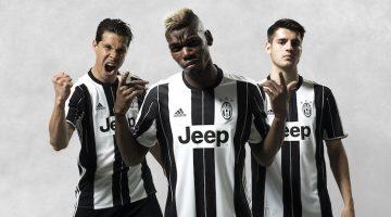 La nuova maglia della Juventus 2016-17