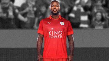 Leicester, seconda maglia 2016 di Puma